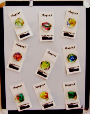Ice Cube Magnets-Ice Cube Magnets