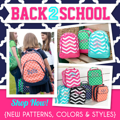 Personalize Your Life-personalize, back to school, backpack, gym bag, lunch bag, gifts, custom item,