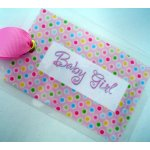 Baby Girl Bag Tag-tag, bag tag, diaper bag, baby girl, baby,