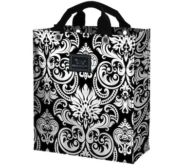Bungalow Scout Goodie/Gift Bag  Racey Lacey Paisley-bungalow scout goodie bag, gift bag, goodie bag, got damask, wedding tote, wedding bag, bridesmaid gift, wedding gift bag, reusable