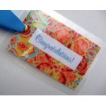Congratulations Bag Tag-tag, bag tag, congrats, gift tag, package adornment, luggage tag