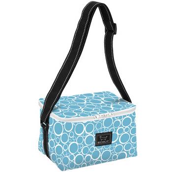 Bungalow Scout Cooler Bubbles Blue-bungalow scout, bungalow, bungalow bag, scout bag, tote, cooler, bungalow scout cooler, ice ice baby, boutique bag, boutique gift, blue