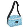 Bungalow Scout Cooler Bubbles Blue-bungalow scout, bungalow, bungalow bag, scout bag, tote, cooler, bungalow scout cooler, ice ice baby, boutique bag, boutique gift, blue