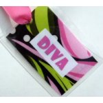Diva Bag Tag-tag, bag tag, diva, package tag, gift tag, package adornment