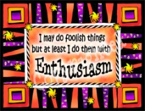 "Magnet ""Enthusiasm""-magnet enthusiasm gift celebrate life"