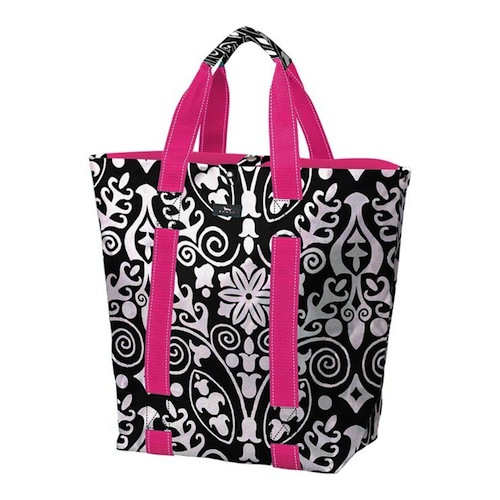 Bungalow Scout Grand Plan Tote in Inked-Bungalow Scout Grand Plan tote in Vanilla Bean, gift totes,bungalow scout, inked, travel, bungalow scout, tote,wipes clean, water resistant