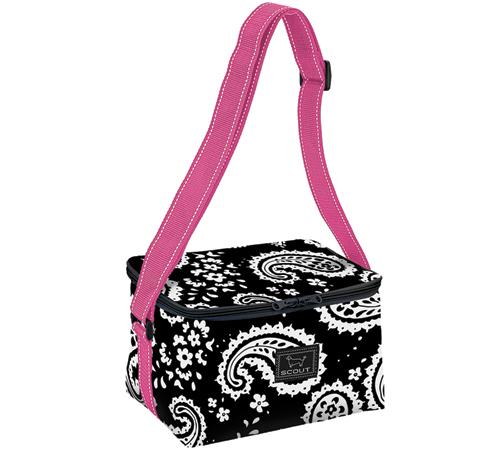 "Bungalow Scout Cooler ""Ice-Ice Baby"" in Racey Lacey-bungalow scout, cooler, ice ice baby, lunch bag, lunch tote, cooler tote,"