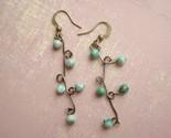 Earrings  Jade Branch-jade earrings, cool earrings, fun, funky, unique, jade bead