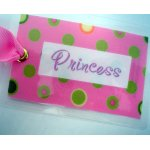Princess Bag Tag-