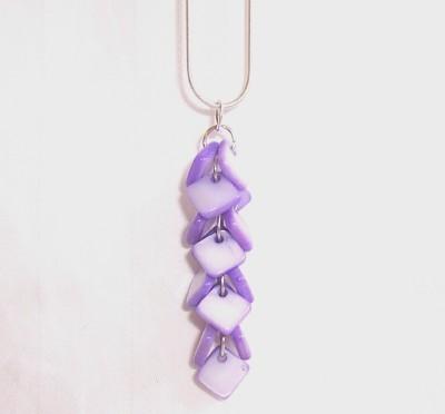2-Tone Brick Necklace-2-Tone Brick Necklace