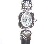 Silver Bracelet Watch-Silver Bracelet Watch