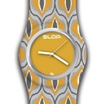 Slap Watch BoHo Yellow-watch, slap, slap watch, jewelry, accessory, accessories, gift