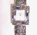 Silver Jeweled Watch-Silver Jeweled Watch