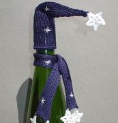 HandKnit  Bottle Toppers